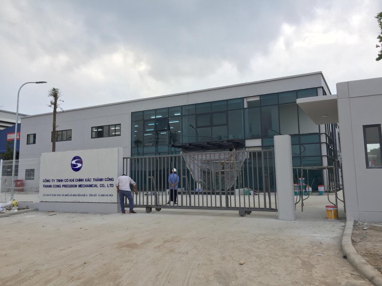 Tổng vệ sinh sau xây dựng – Nhà máy cơ khí chính xác Thành Công