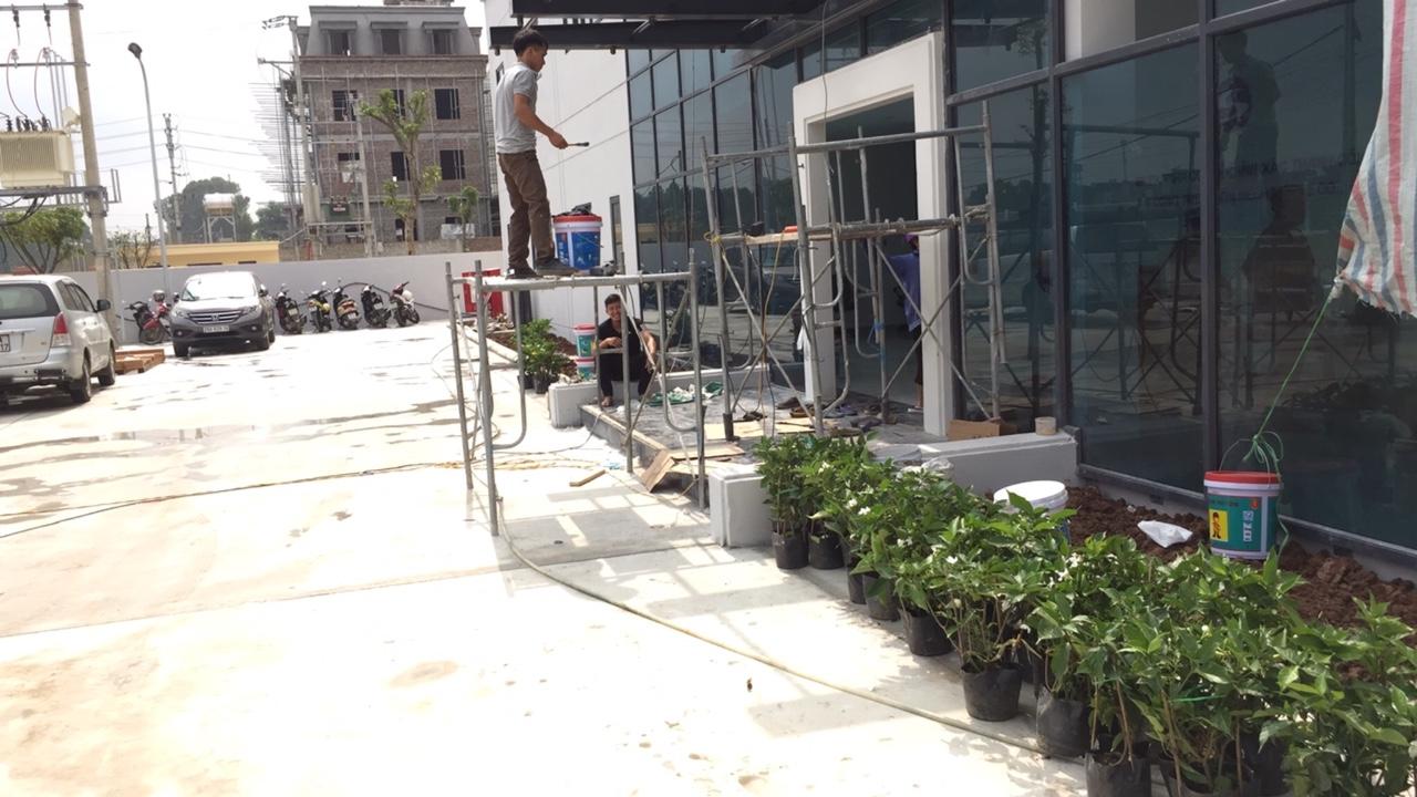 Thi công khuôn viên – nhà máy Thành Công