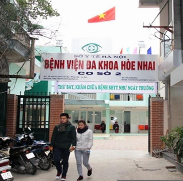 Tổng vệ sinh Bệnh viện Hòe Nhai Cơ sở 2