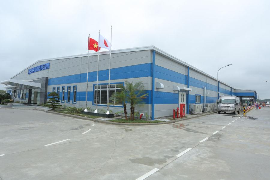 Tổng vệ sinh sau xây dựng – Nhà máy Sakai Amiori